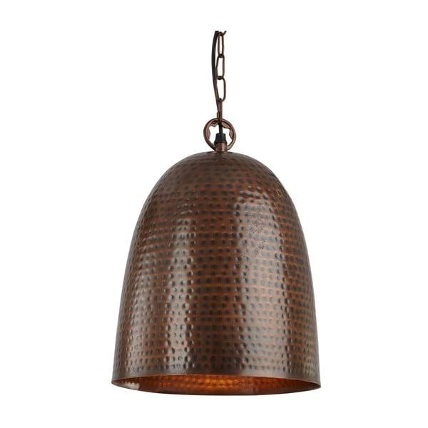 Stropné svetlo Brown Bell, hnedá