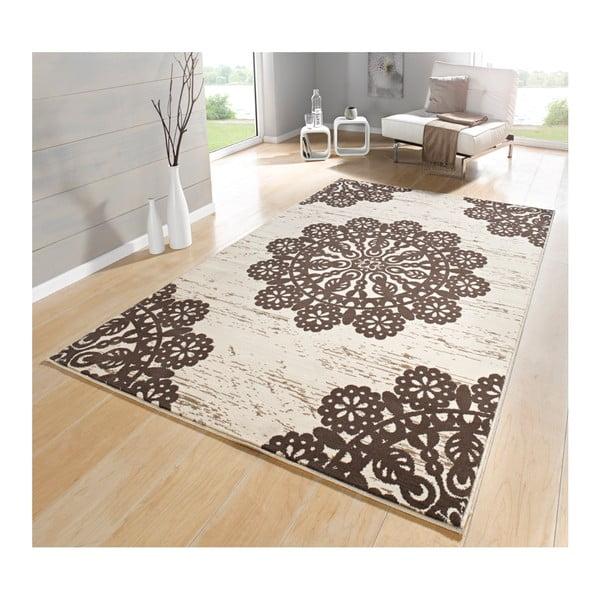 Hnedý koberec Hanse Home Gloria Lace, 160 x 230 cm