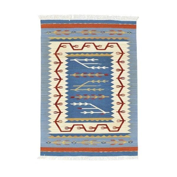 Vlnený koberec Kilim Classic AK03 Mix, 125x185 cm