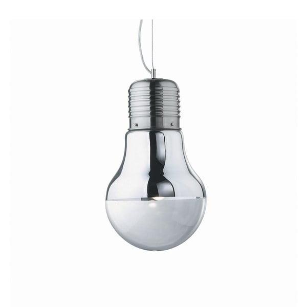 Závesné svietidlo Evergreen Lights Bulb Nickel
