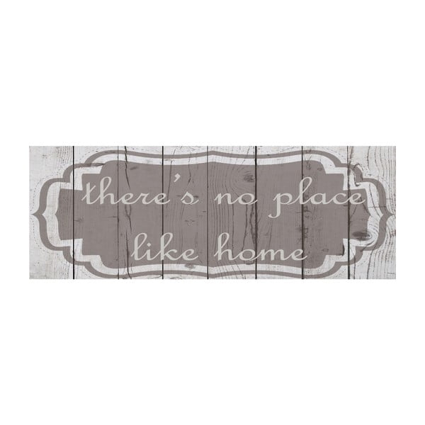Vinylový koberec There's No Place Like, 50x140 cm