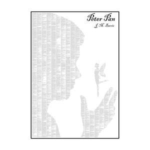Knižný plagát Peter Pan, 70x100 cm
