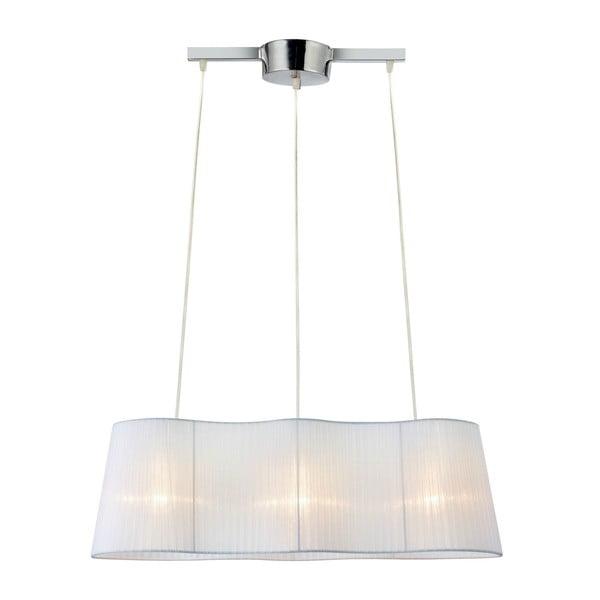 Biele závesné svetlo Markslöjd Vinsingso 76 cm