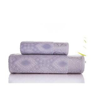 Sada uteráka a osušky  Sal Grey, 50x90 cm a 70x140 cm