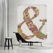Kúpeľňový záves Ampersand, 180x180 cm