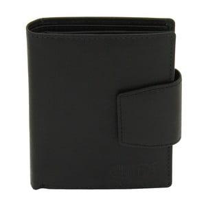 Dámska černá kožená peňaženka Friedrich Lederwaren Hunter