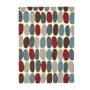 Vlnený koberec Sofia Red Teal 120x170 cm