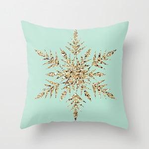 Obliečka na vankúš Snowflake Blue, 45x45 cm