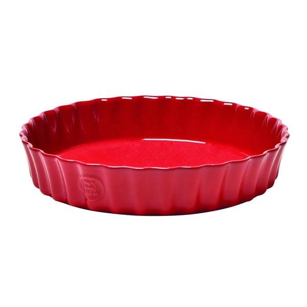 Červená koláčová forma Emile Henry Flan