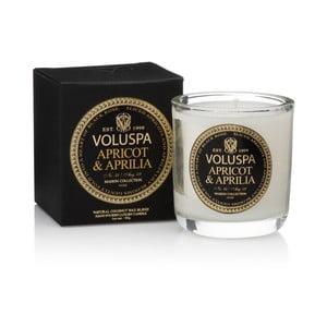 Sviečka s vôňou marhúľ, ľalie a čiernej ruže Voluspa Maison Votive, 25 hodín horenia