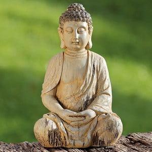 Dekoratívna soška Boltze Buddha, 30 cm