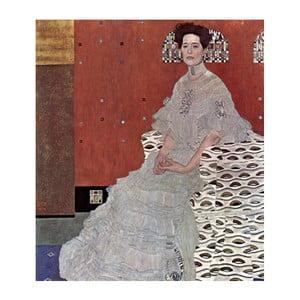 Reprodukcia obrazu Gustav Klimt - Fritza Riedler, 70x60cm