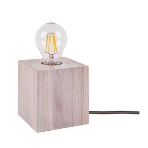 Stolová lampa BRITOP Lighting Trongo Oak White Anthracite