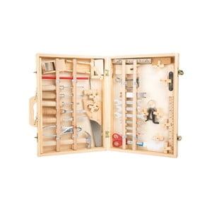Detský drevený set náradia s kufríkom Legler Deluxe