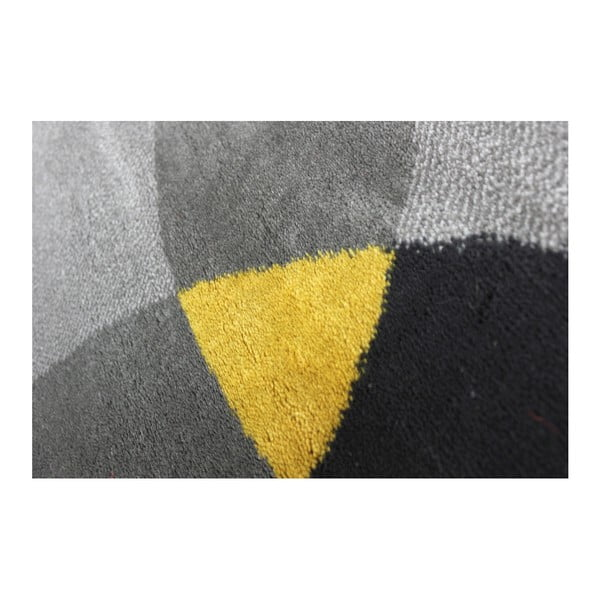 Koberec Flair Rugs Cocktail Cosmo Grey Ochre, 120 × 170 cm