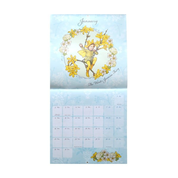 Kalendár Portico Designs Flower Fairies SQ