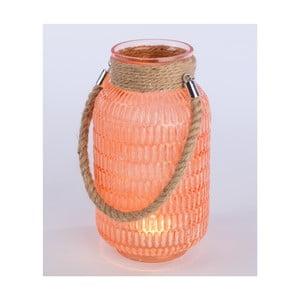 Lampáš Meanra 27 cm, oranžová