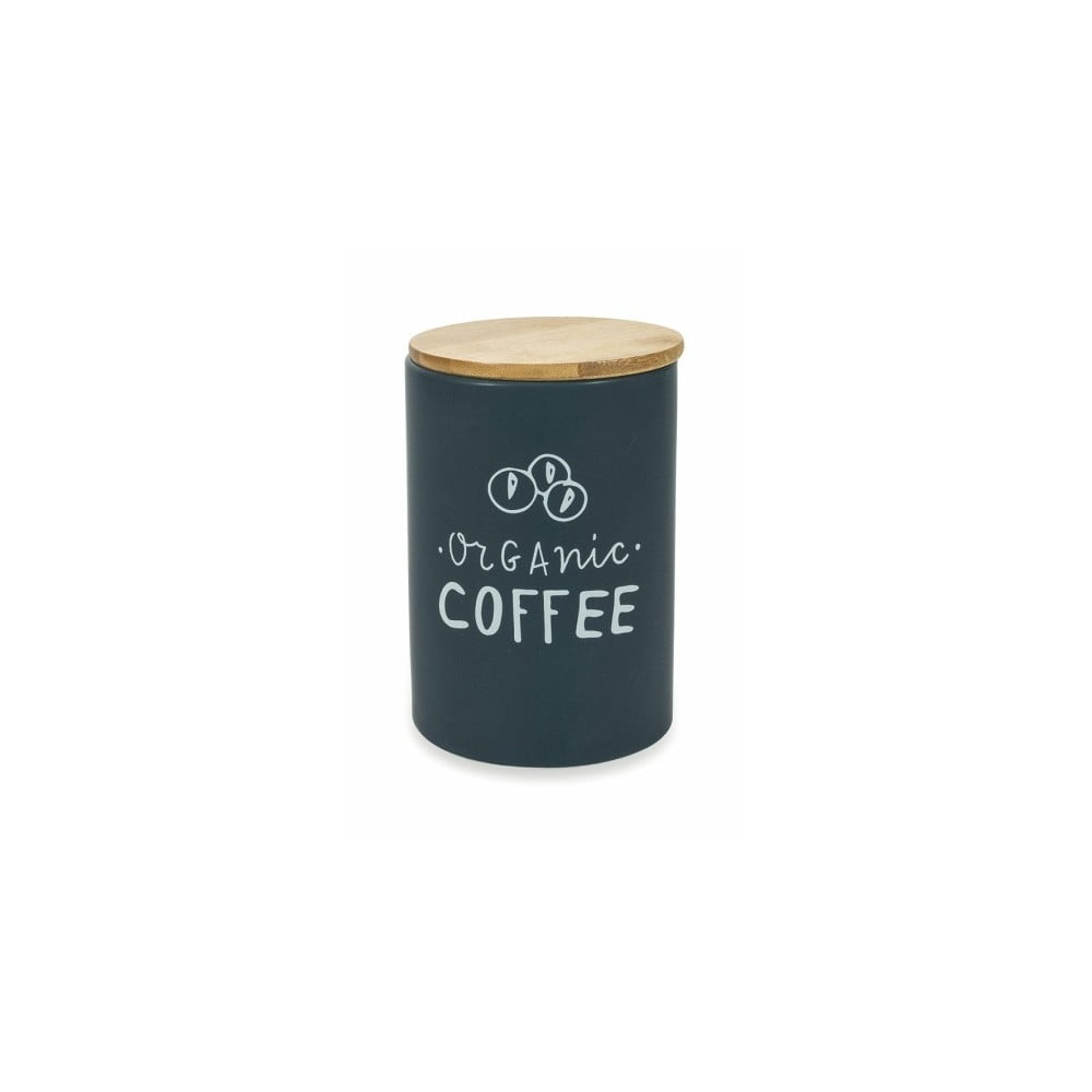 Dolomitová dóza s vekom na kávu z bambusu Villa d'Este Marine, ⌀ 11,5 cm