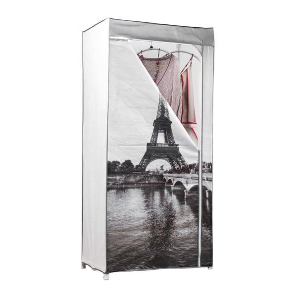 Textilná šatníková skriňa Compactor Wardrobe Paris