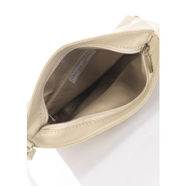 Kožená kabelka Italia 241 Beige