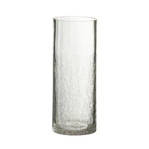 Sklenená váza J-Line Erminia, priemer 12 cm