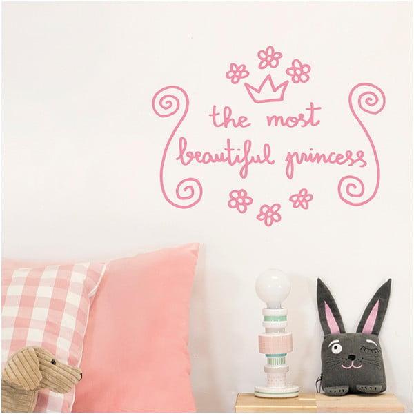 Dekoratívna samolepka na stenu Beautiful Princess