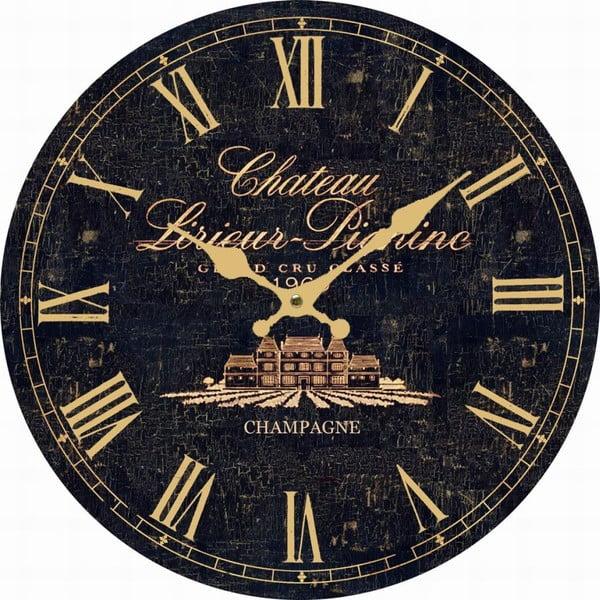 Nástenné hodiny Antic Line Dark Chaeteau