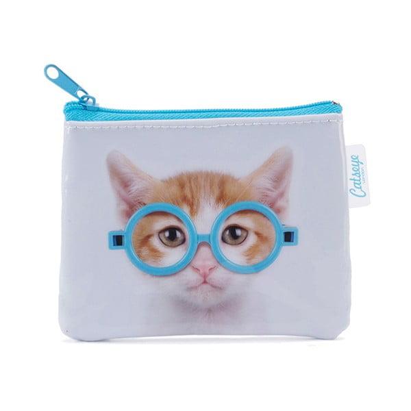 Malá taška na drobné Glasses Cat