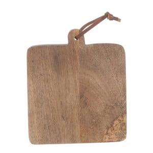 Doska na krájanie z mangového dreva J-Line Mango, 20 x 32 cm