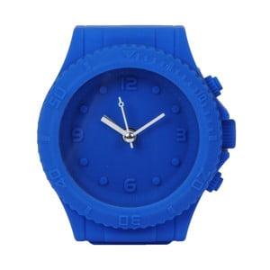 Tmavomodré hodiny s budíkom Just 4 Kids Blue Watch Style