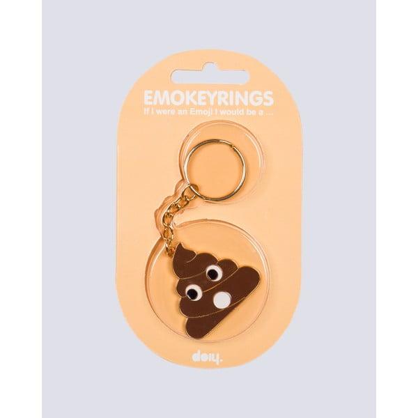 Prívesok na kľúče Emokeyrings Poo