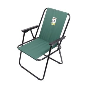 Zelená skladacia kempingová stolička Cattara Bern