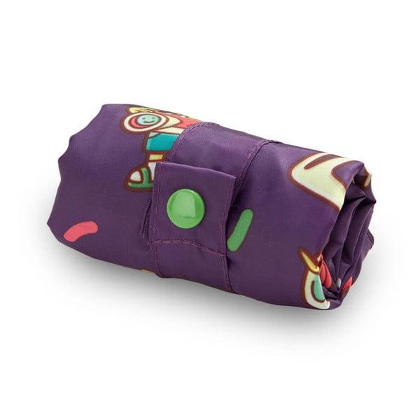 Skladacia nákupná taška skapsičkou LOQI Barcelona