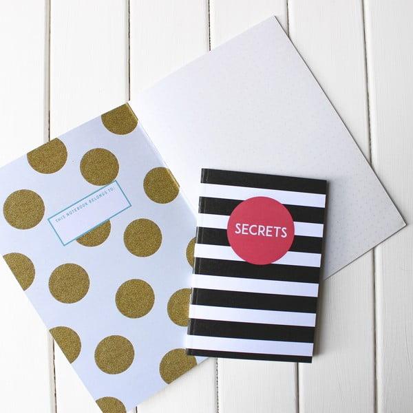 Zápisník Secrets A5