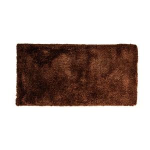 Tmavohnedý koberec Cotex Donare, 70 × 140 cm