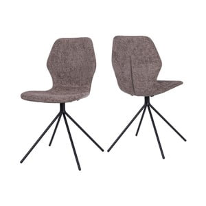 Hnedá jedálenská stolička Canett Tristian