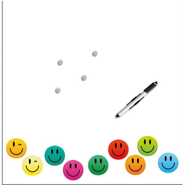 Magnetická tabuľa Eurographics Smiley, 50 x 50 cm