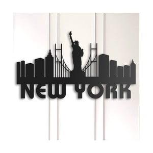 Kovová nástenná dekorácia New York