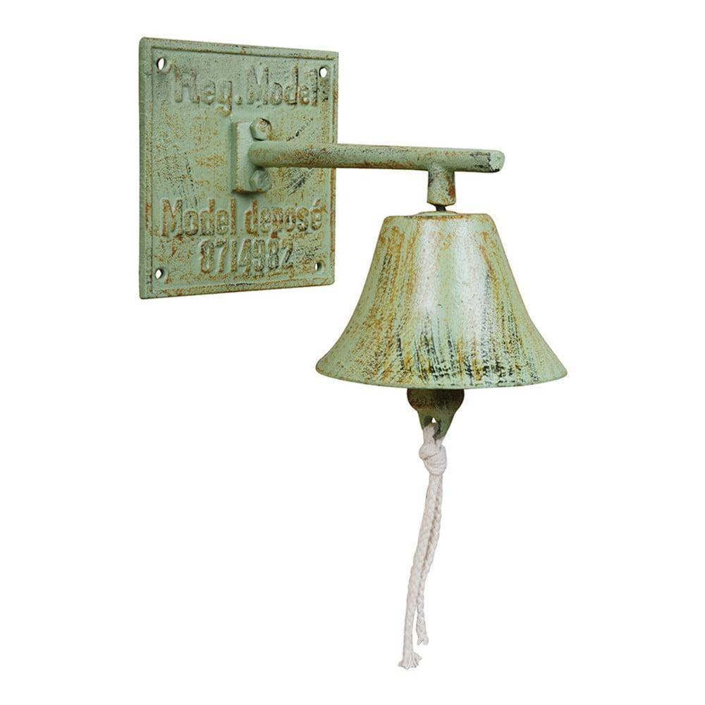 Zelený liatinový zvonček Ego Dekor
