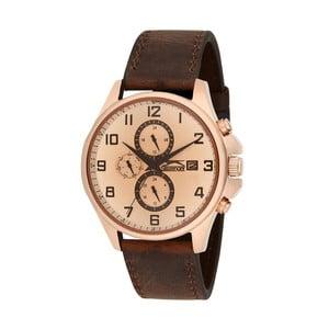 Pánske hodinky Slazenger Golden-Brown