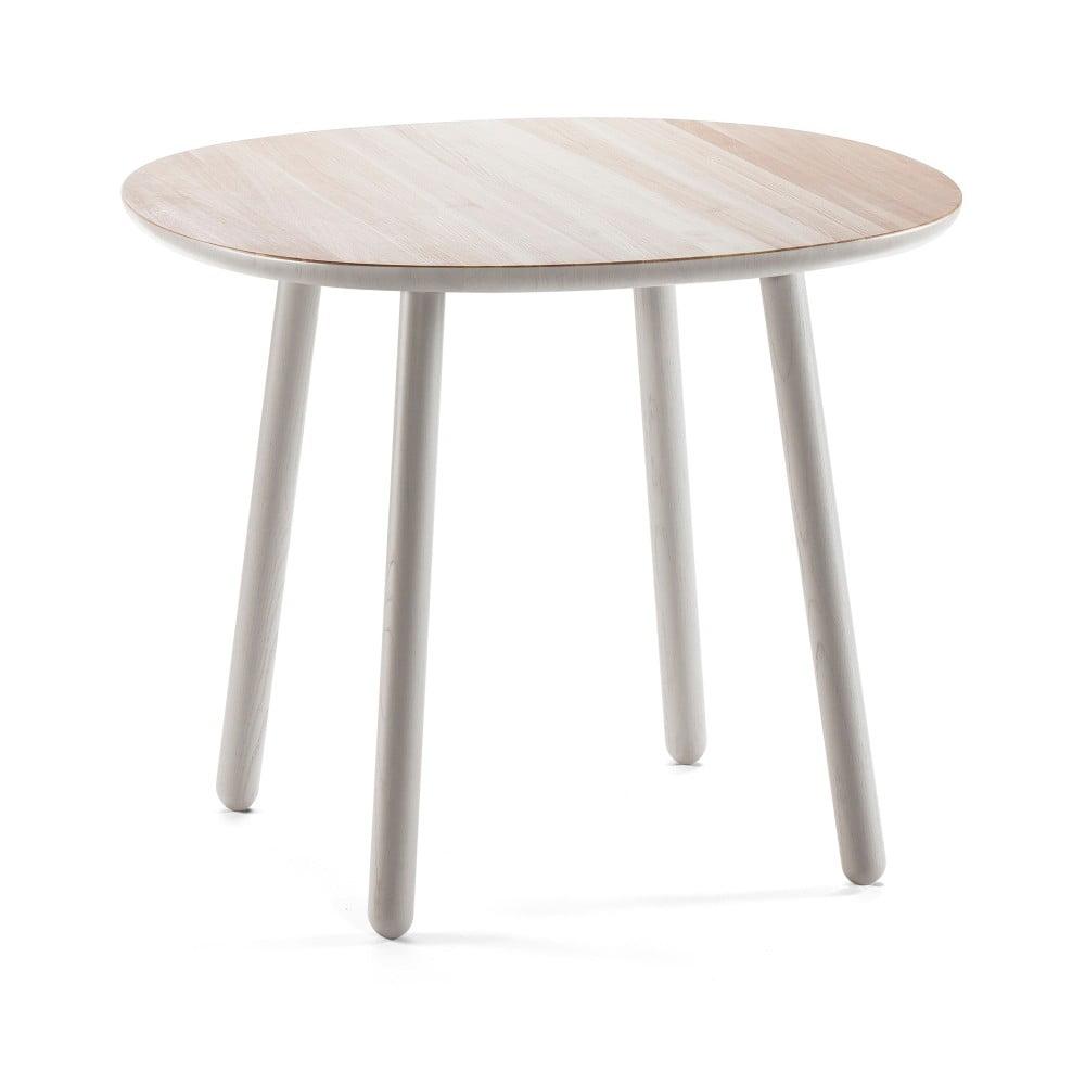 ffa40a3bb8ea Sivý jedálenský stôl z masívu EMKO Naïve 90 cm