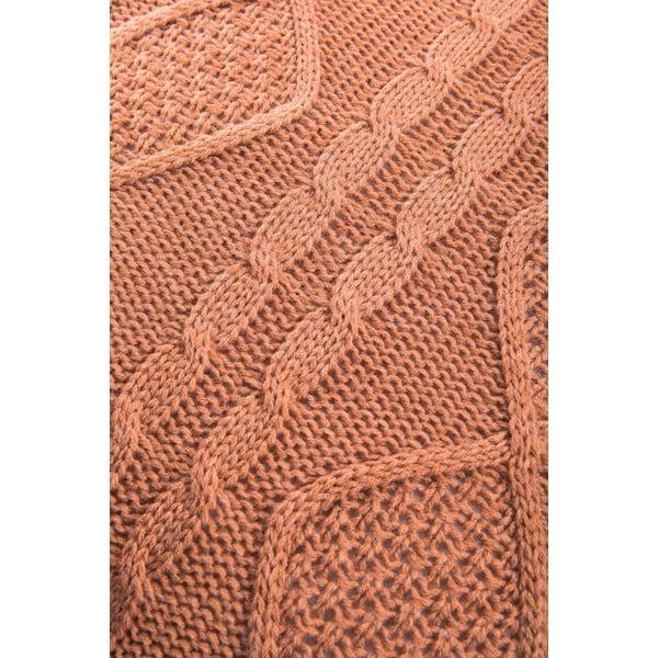 Vankúš Kosem, 43x43 cm, hnedá