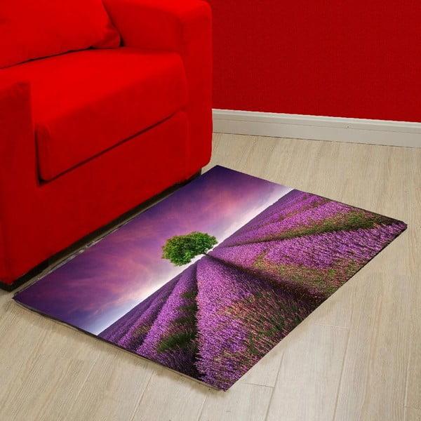 Vinylový koberec Lavender Field,52×75cm