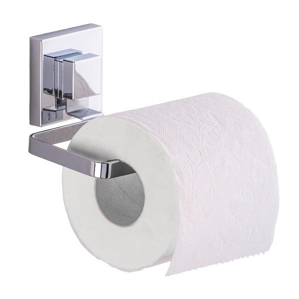 Držiak na toaletný papier bez nutnosti vŕtania Wenko Vacuum-Loc Quadrio, až 33 kg