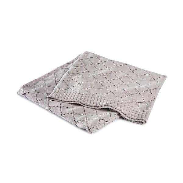 Prikrývka Madeleine Grey, 130x170 cm