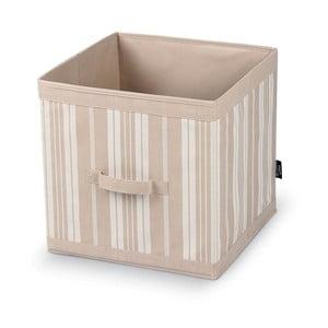 Veľký úložný box Domopak Stripes