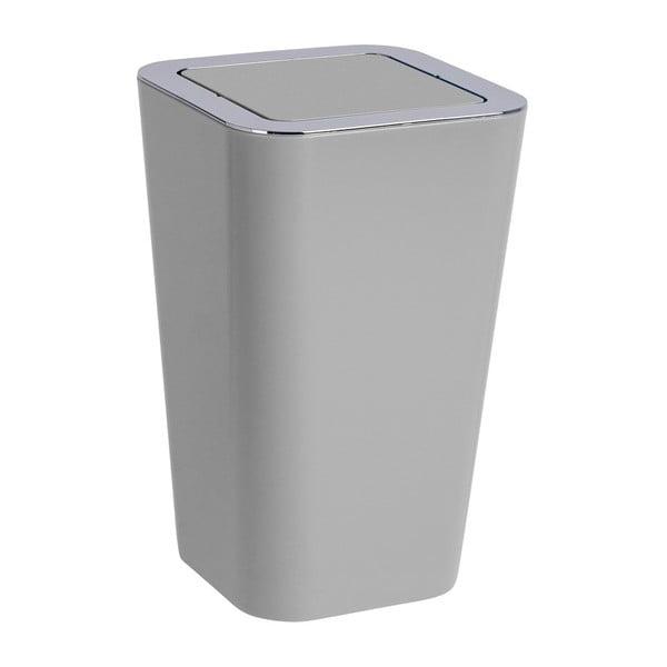 Sivý odpadkový kôš Wenko Candy