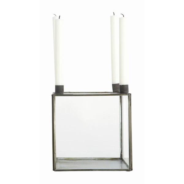 Svietnik Square Glass Medium