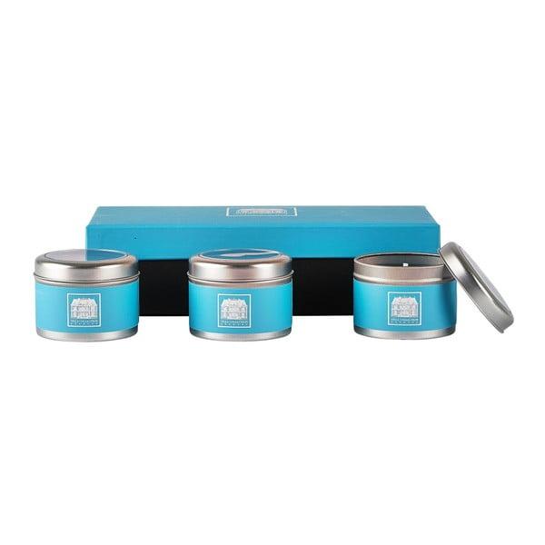 Sada 3 sviečok s vôňou uhorky a vody Villa Collection