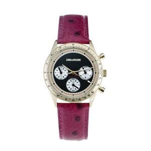 Dámske hodinky s červeným koženým remienkom Zadig & Voltaire Milano